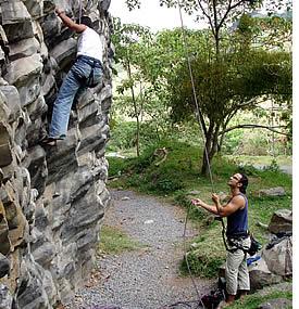allein klettern sicherung